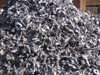 Shredded Ferrous in Container